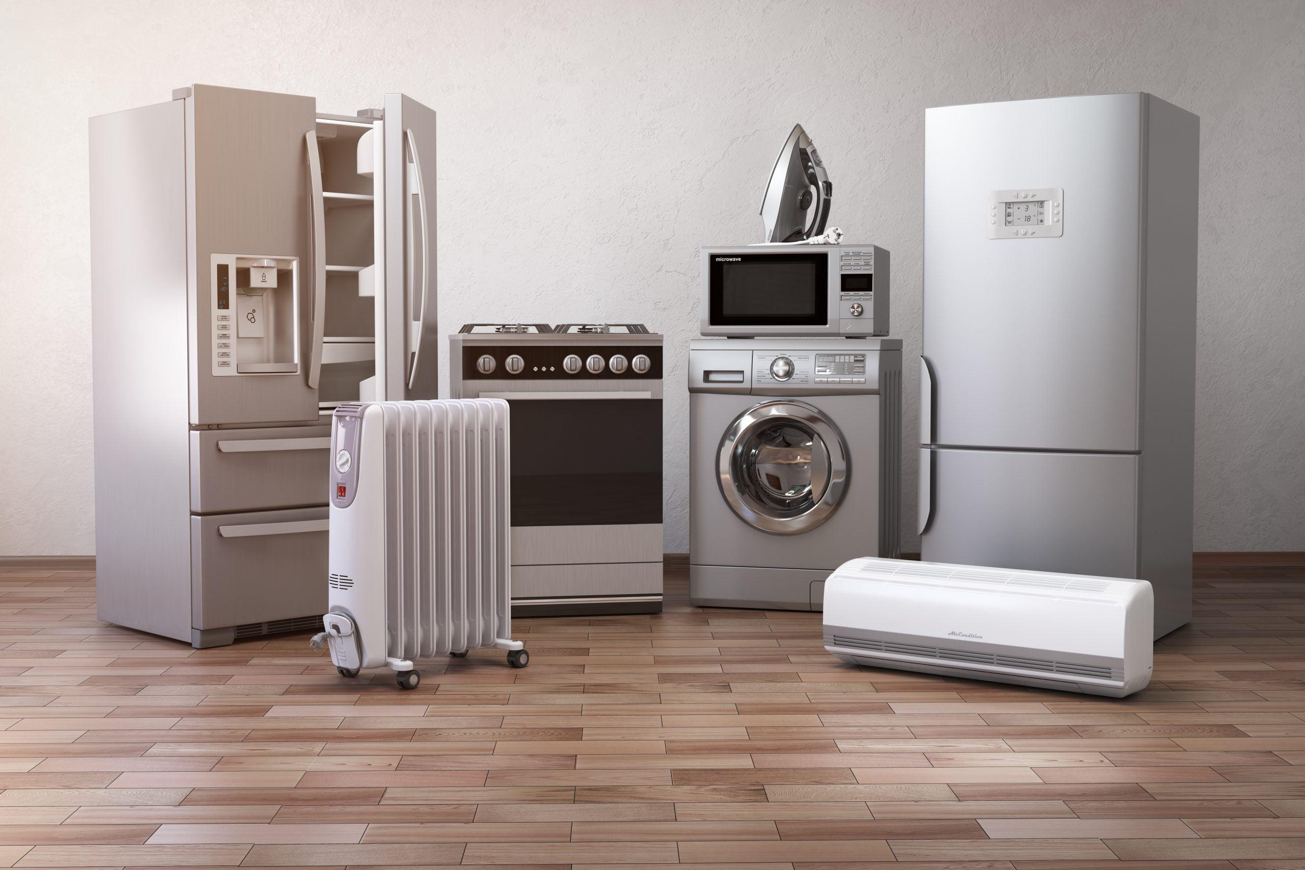 Haushaltsgeräteindustrie, Home appliance industry, Industrija bele tehnike